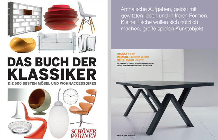 Möbeldesigner Deutschland studio joester industrialdesign trier
